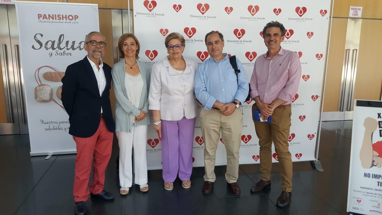 El Banco de Sangre y Tejidos de Aragón agradece la entrega de los donantes de sangre en la maratón