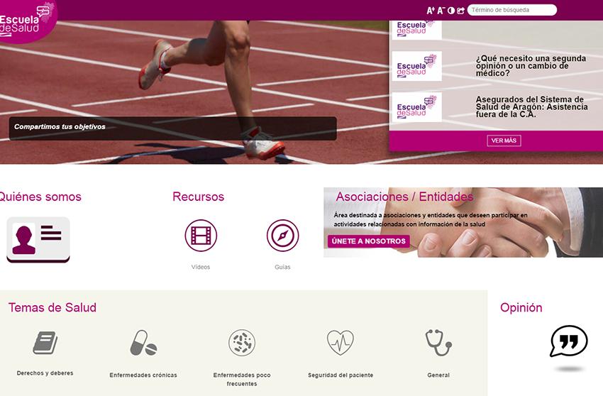 La Escuela de Salud de Aragón, integrada en la red nacional
