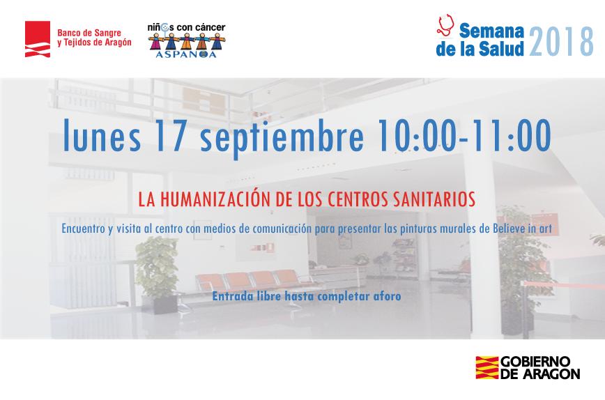 El Banco de Sangre y Tejidos de Aragón hablará con periodistas sobre las iniciativas de mejora de servicio de los centros sanitarios aragoneses