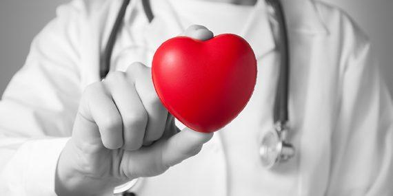 Sanitario con corazón