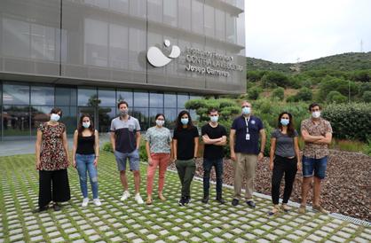 Investigadores de la Fundación Josep Carreras