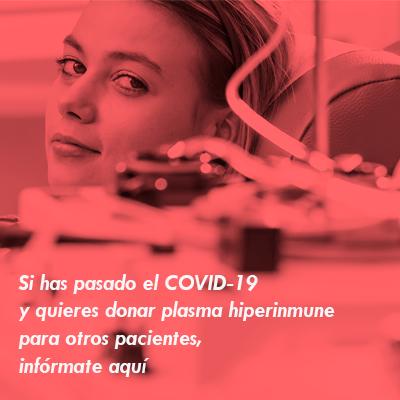 Donación de plasma hiperinmune