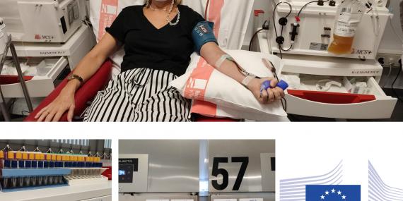 El Banco de Sangre de Aragón cuenta con fondos de la Comisión Europea para donar plasma