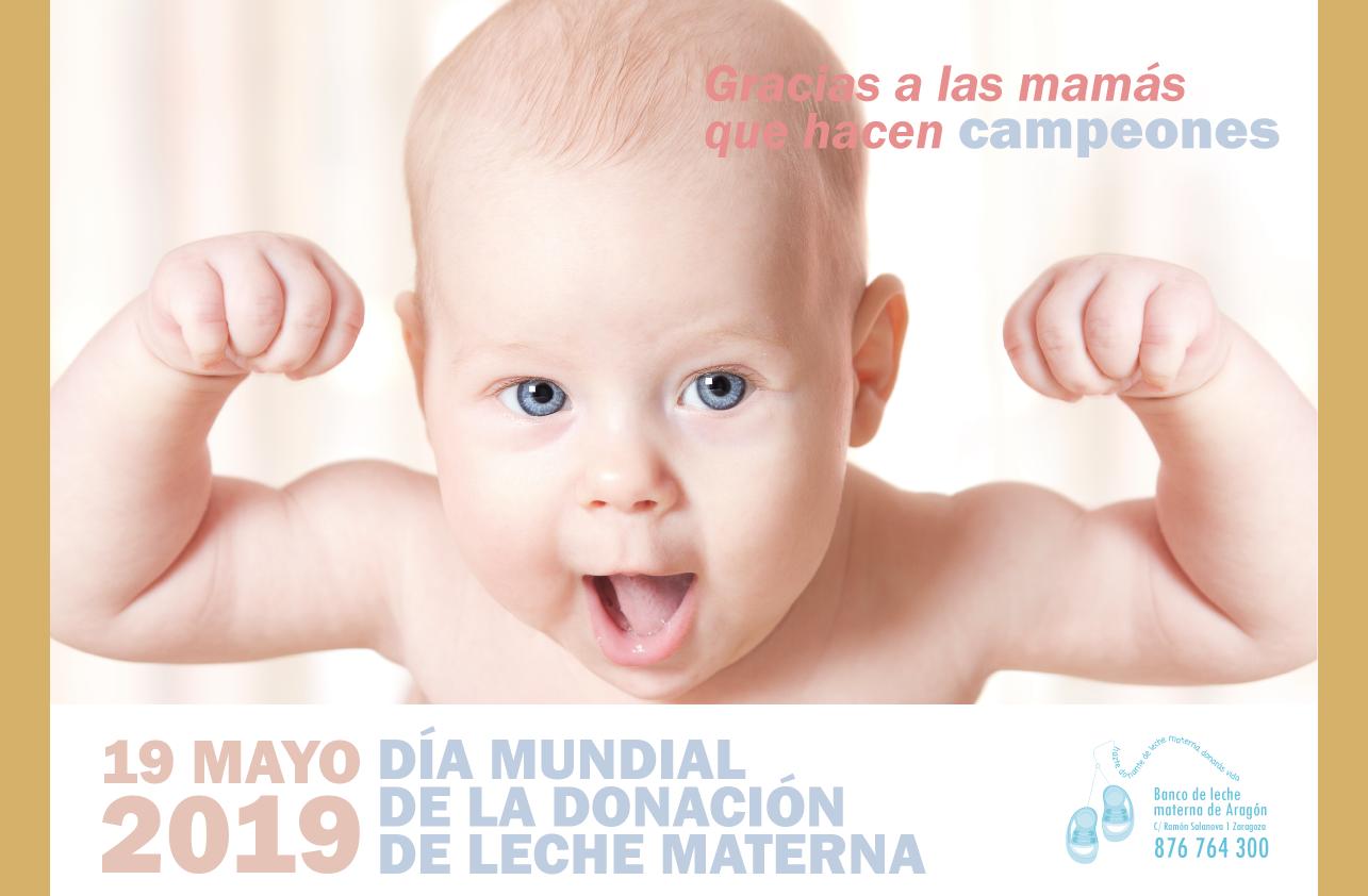 Celebración del Día Mundial de la Donación de Leche Materna