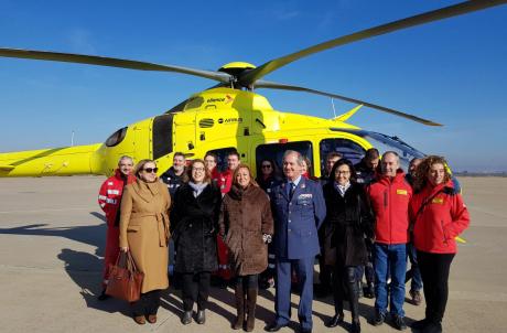 Los helicópteros de emergencia aragoneses llevarán sangre a bordo